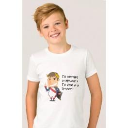 Tee-shirt enfant P'tit Napo Empereur
