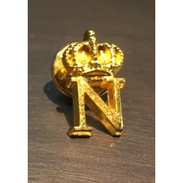 pin's couleur or N impérial